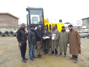 TCE 3000 Succefully delivered in Kashmir